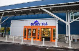 Рыбный магазин Disas Fish в Лаппеенранте