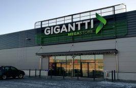 Гипермаркет техники Gigantti Megastore в Турку