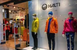 Магазин спортивной одежды Halti в Хельсинки