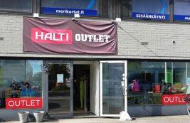 Аутлет Halti в Хельсинки
