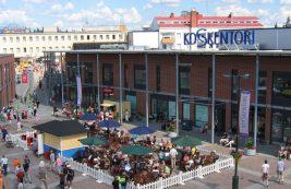 Торговый центр Koskentori в Иматре