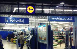 Супермаркет Lidl в Хельсинки