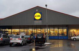 Супермаркет Lidl в Иматре
