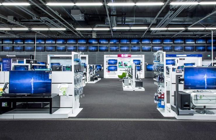 Гипермаркет бытовой техники Gigantti в Финляндии
