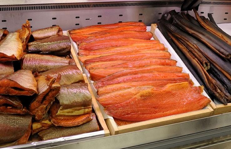 Копченая рыба финляндия