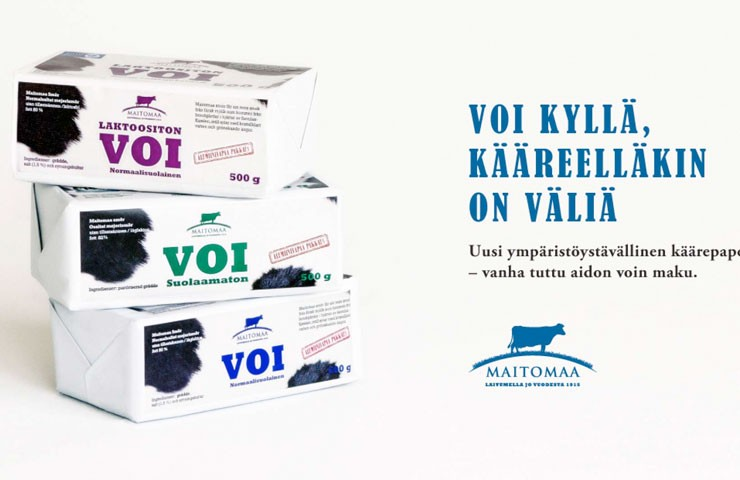 Финское масло Maitomaa